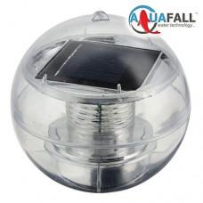 Шар плавающий со светодиодной подсветкой на солнечной батарее AS-SPD-W – белый свет